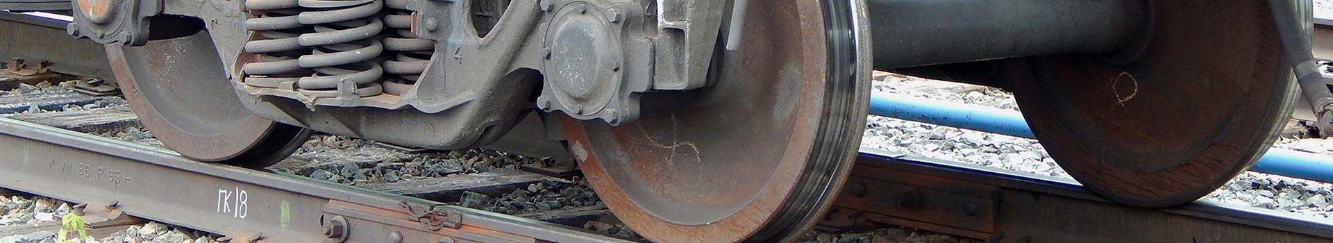train on train tracks