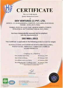 ISO certificate issues by Certificate Authority ISO