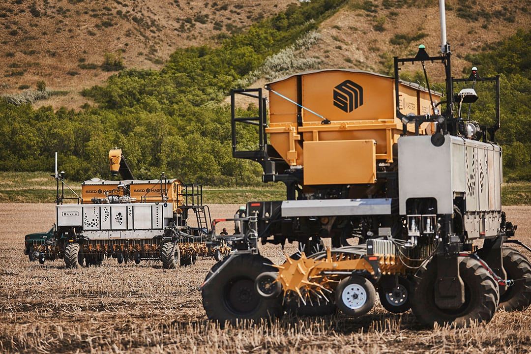 The second OMNiPOWER platform will allow Haggerty AgRobotics to lead the industry as one of the first customers to implement a real-world fleet of autonomous machines. Haggerty AgRobotics will now manage a fleet of OMNi platforms with machine-to-machine connectivity through the Viper 4+ field computer. - Photo: Business Wire