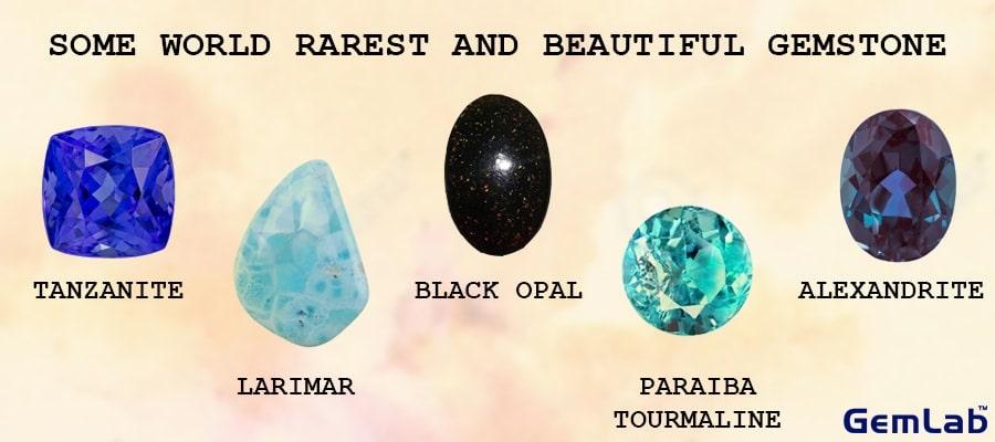 Some Of World's Rarest And Beautiful Gemstone