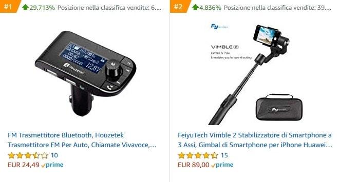 Amazon: i prodotti bestseller - IMPRIMIS ecommerce