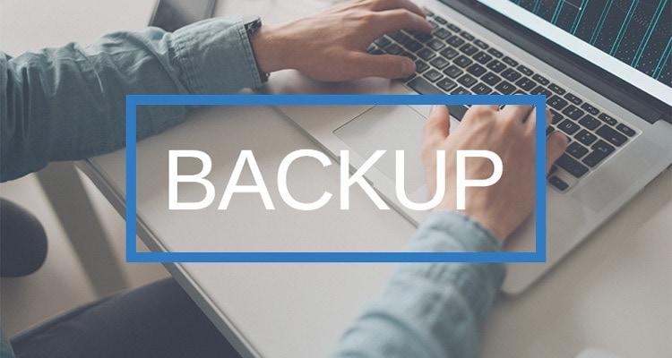 Backup: sicurezza sito web