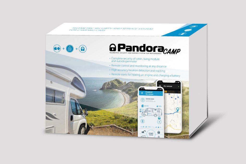 Pandora Camper Wohnmobil Alarmanlage mit Ortungssystem & Smartphone App inkl. Einbau 3