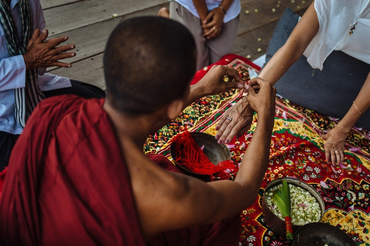 Khmer wedding ceremony Song Saa