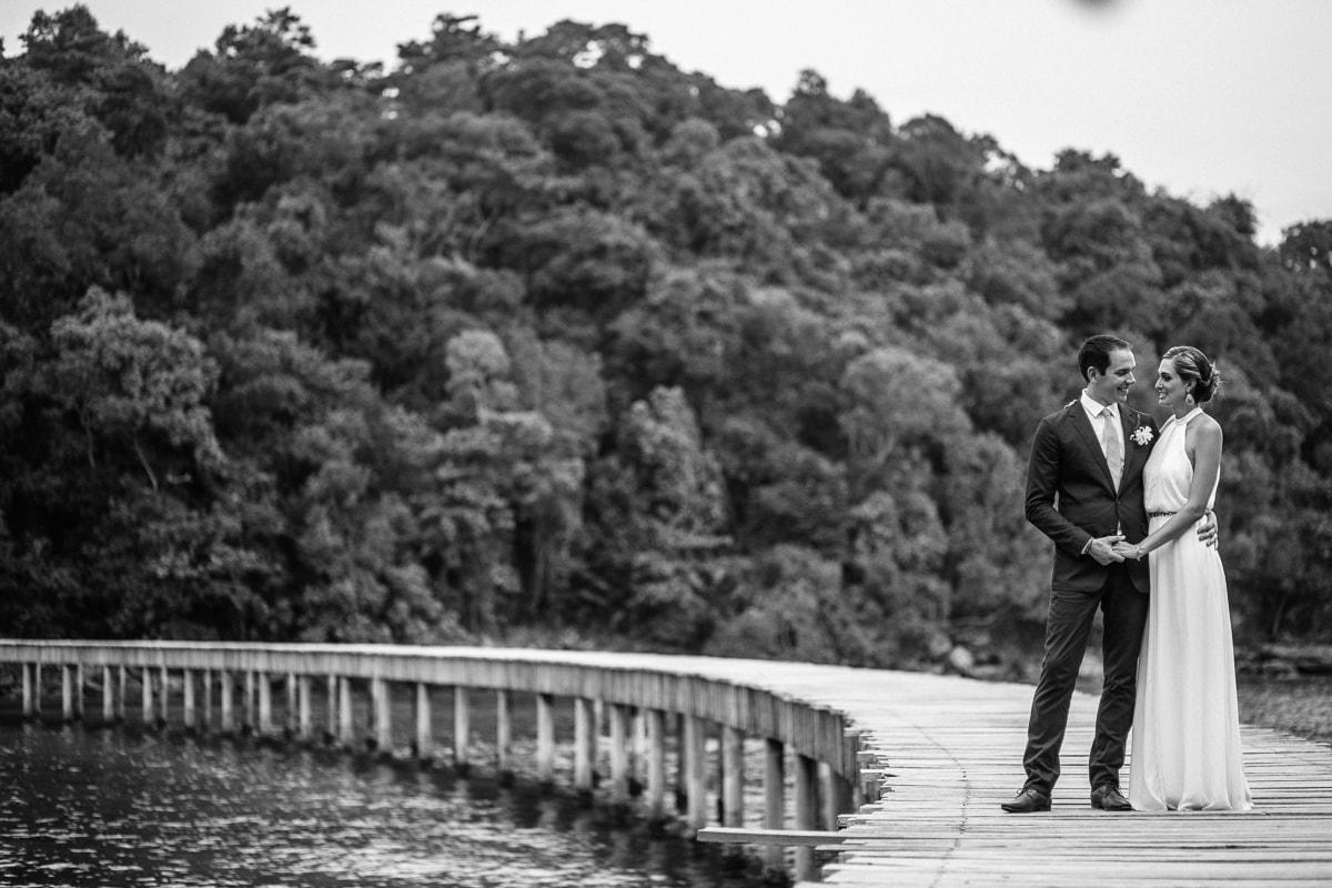 Song Saa wedding couple