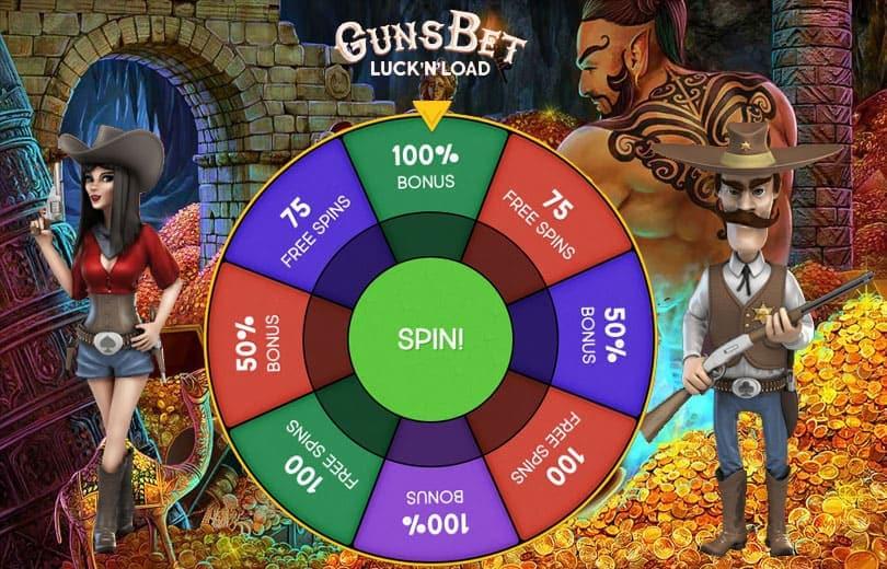 Guns Bet Casino Welcome Bonus Offer