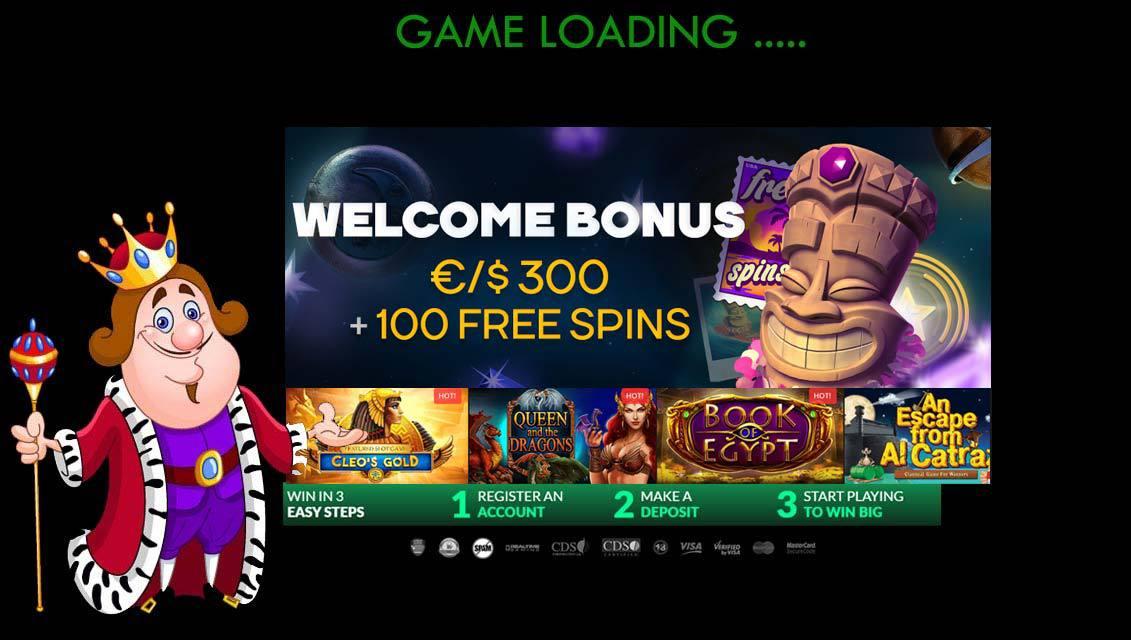 Golden Star Casino Welcome Bonus Offer