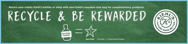 Does Kiehl's take empty bottles?