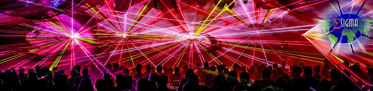 lasershow header rood