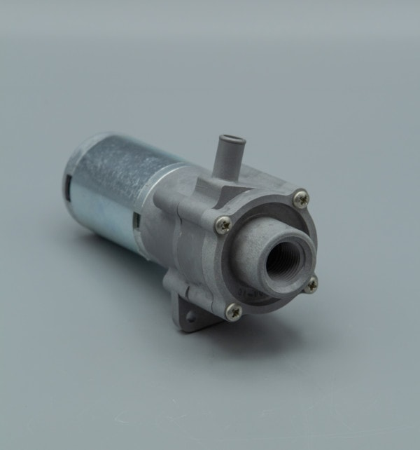 March Pump's 893-05 centrifugal sealless magnetic drive DC brush type 24V pumps ideal for chemical pumping applications.