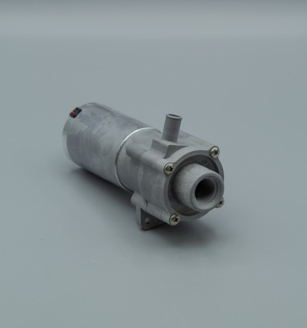 March Pump's 893-07 centrifugal sealless magnetic drive DC brushless 12V pumps ideal for chemical applications.
