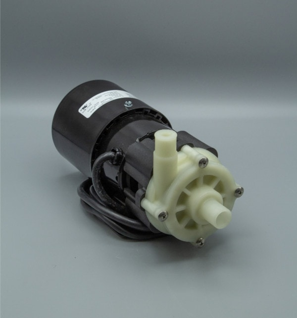 March Pump's BC-3AP-MD centrifugal sealless magnetic drive pumps constructed from Polypropylene ideal for corrosive applications.