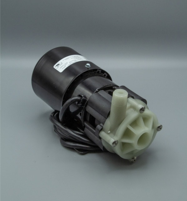 March Pump's BC-3CP-MD centrifugal sealless magnetic drive pumps constructed from Polypropylene ideal for chemical applications.