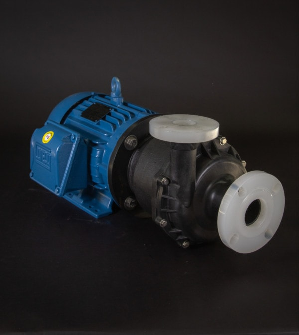 March Pump TE-8C-MD with Flanges