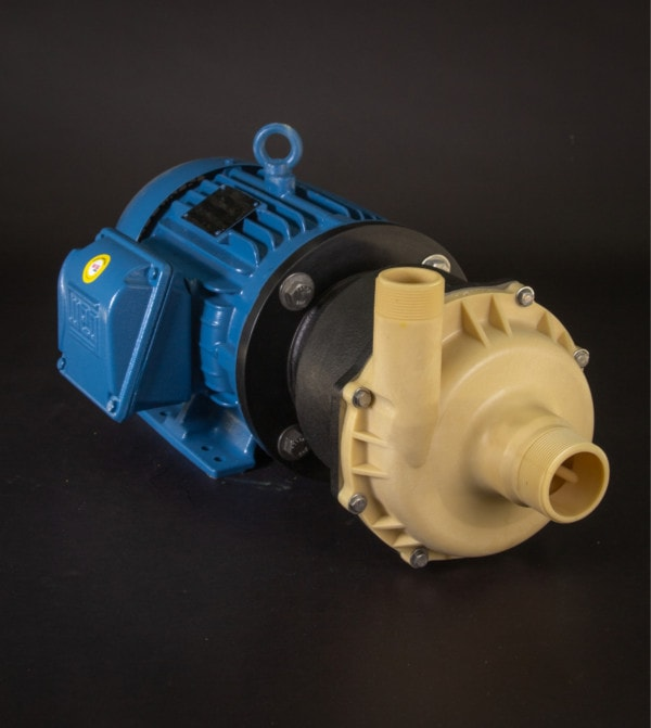 March Pump's TE-8K-MD centrifugal sealless magnetic drive pumps ideal for chemical applications.