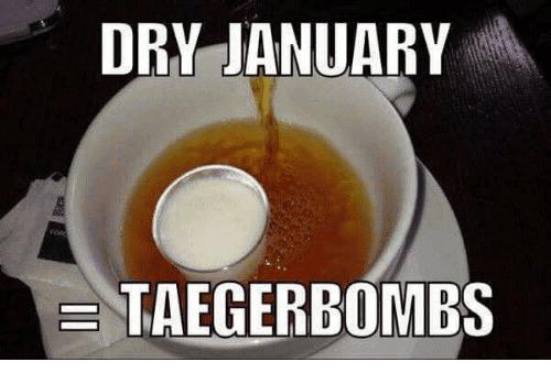 dry january memes