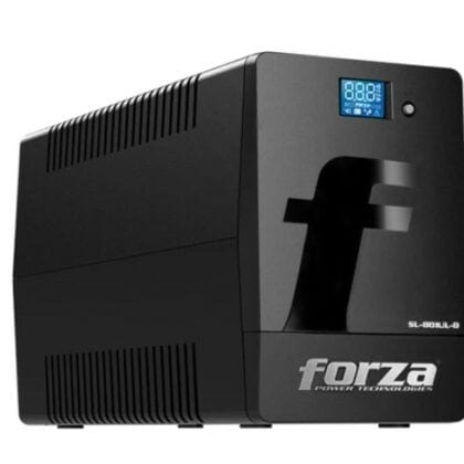 UPS Regulador LCD Smart.  Forza. 800VA/480W/120V 6 salidas