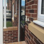 Hikvision doorbell on home