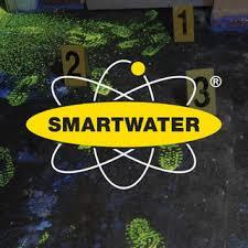 Crime scene SmartWater Logo footprints