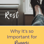 Slippered feet up resting
