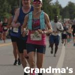 grandmas marathon race review runner on course