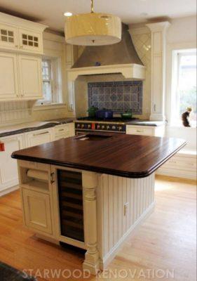 Denver kitchen remodel cherry creek large island