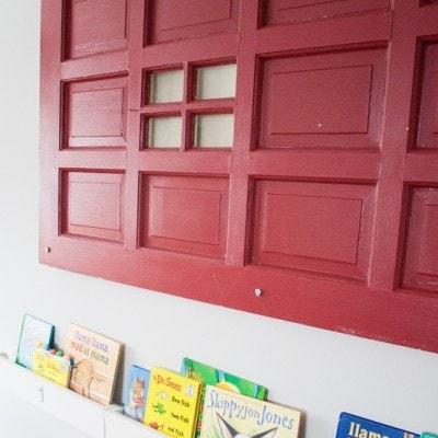 Vintage Door Decor – opinions needed!