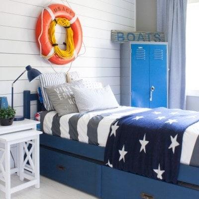 Nautical Boy Room
