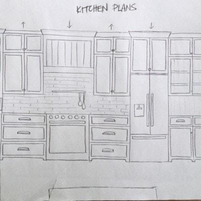 Lake House Kitchen Plans