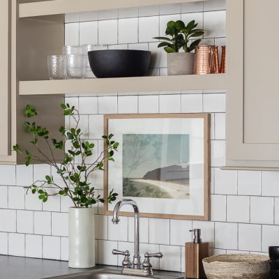 Putty Colored Cabinets and Cabinet Painting Tips