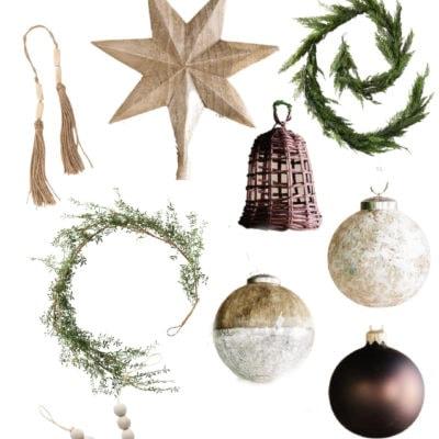 Neutral Christmas Decor