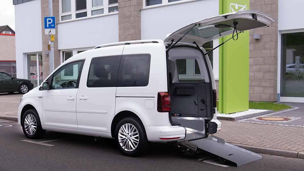 VW Caddy Rolli-in von KADOMO