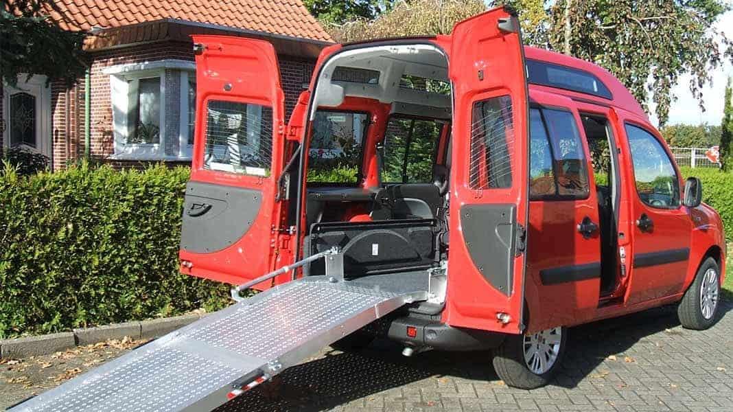 Rollstuhltransporter von Schoon