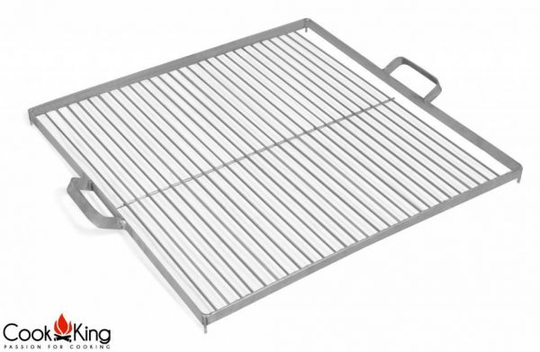 Cookking grillrooster black steel/rvs vierkant diverse formaten – Grillrooster rvs vierkant 58×58