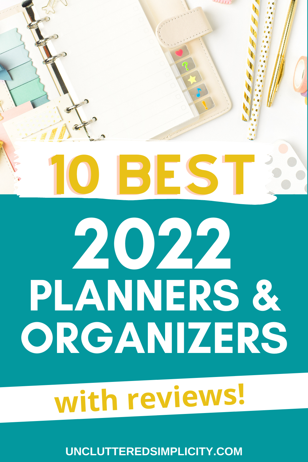 best 2022 planners and organizers