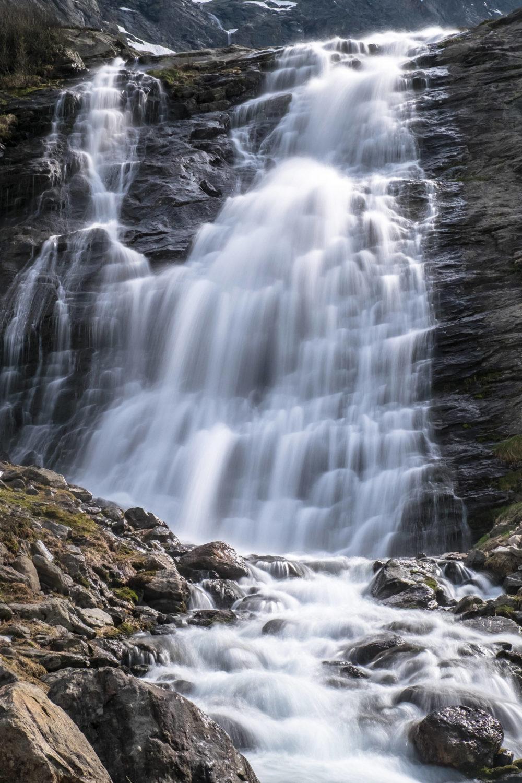 Wasserfall unterhalb des Pizzo Campo Tencia