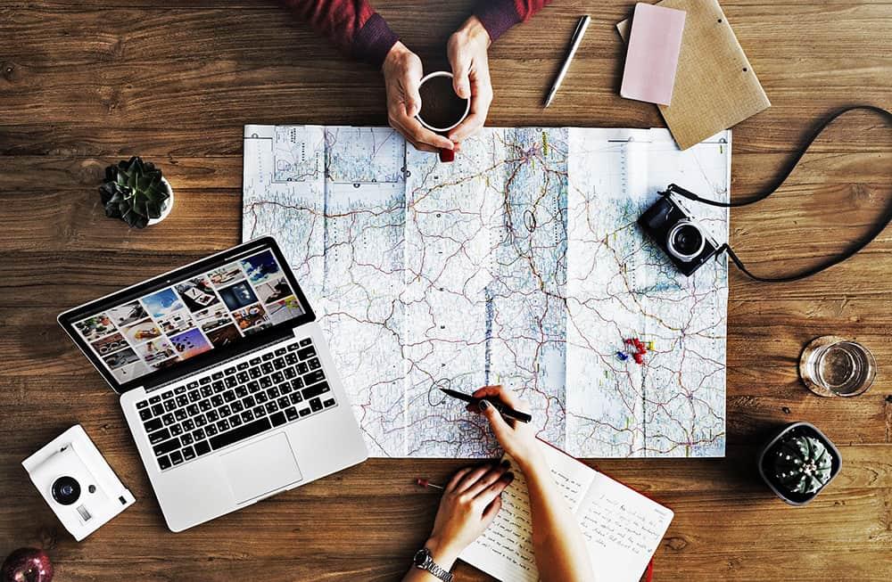 travel itinerary