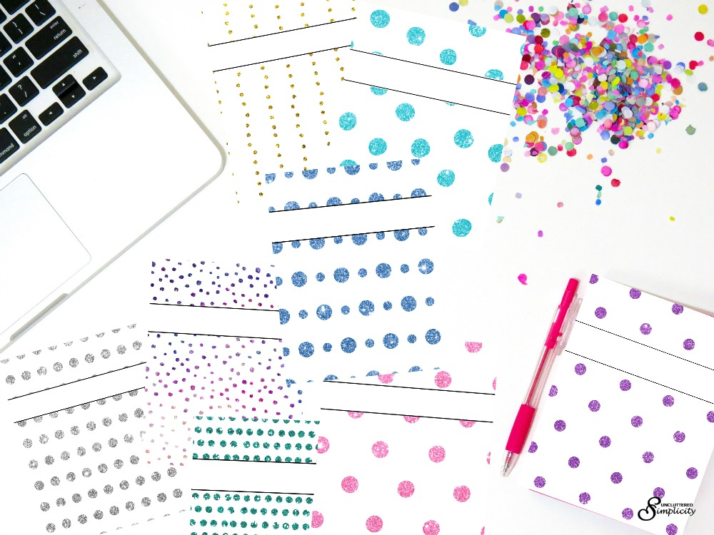 Free Full-Size Planner Covers and Dividers for 2018