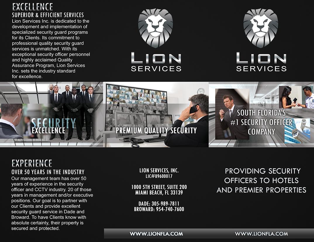 Lion brochure