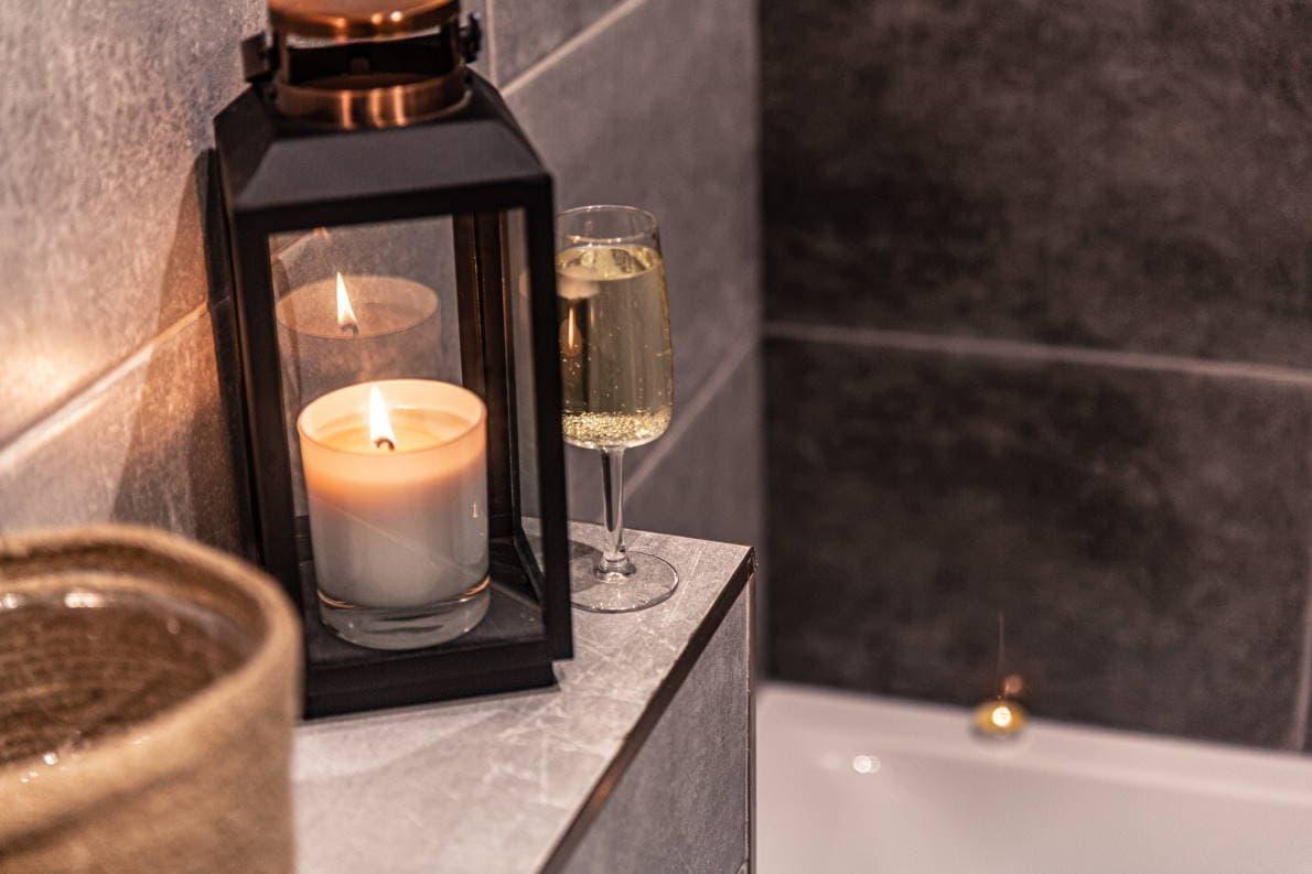 new years resolution idea spa night bath