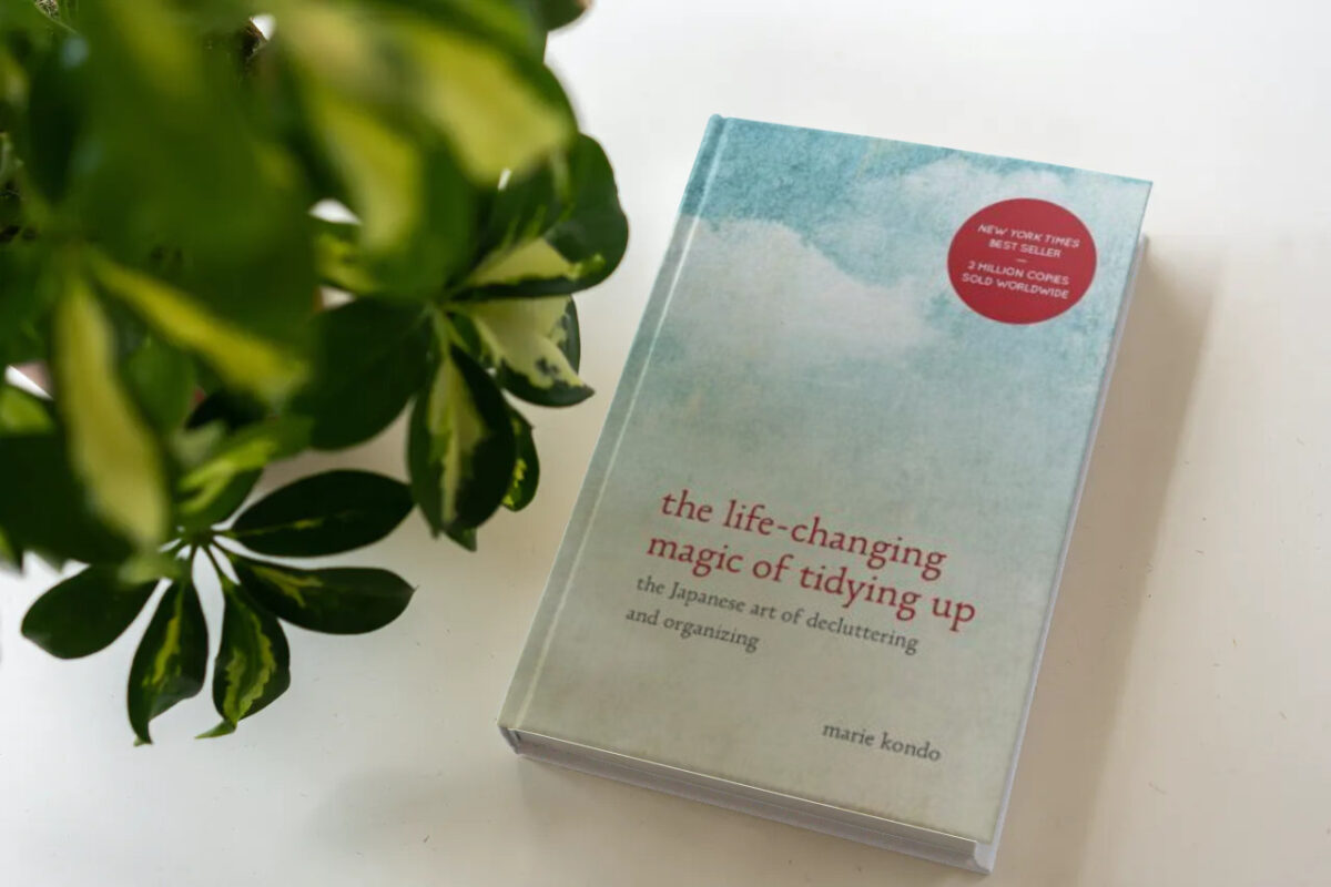 Best decluttering book 1: The Life-Changing Magic of Tidying Up - Marie Kondo