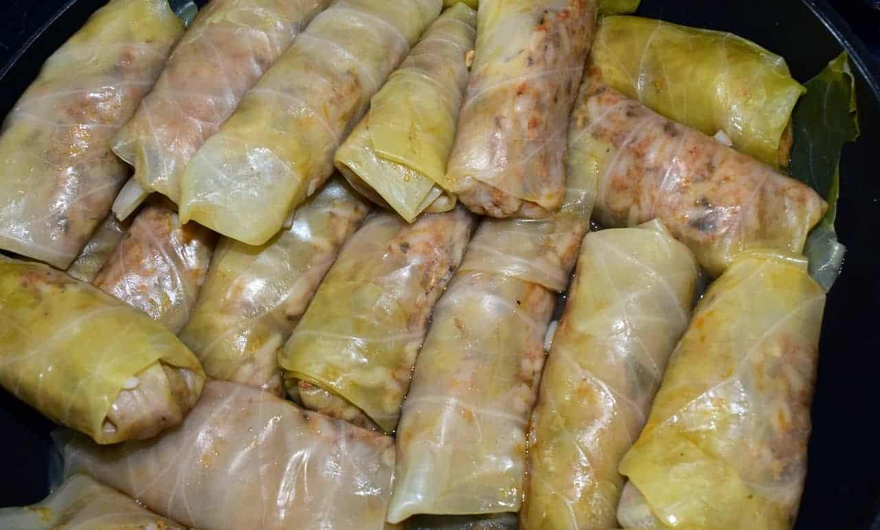 Polish golabki rolls.