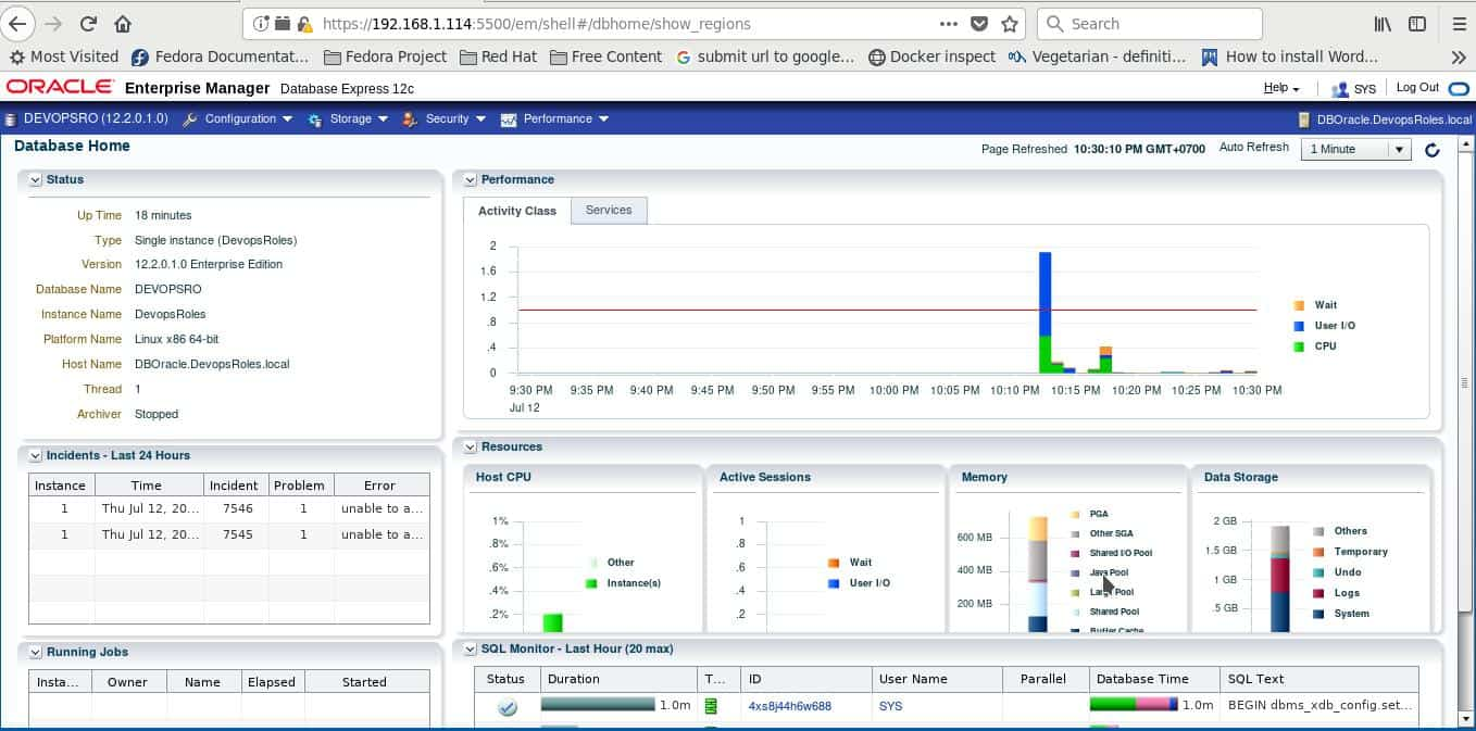 Install Oracle Database 12c on Centos 7 11