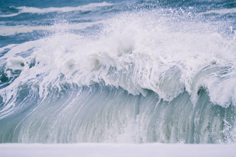 Welle an der Westküste