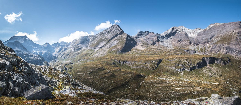 Bergpanorama im Val Bavona