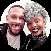 Élishia Sharie and her husband, Jay Vincent B
