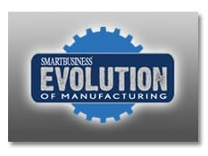 Evolution of Manufacturing Logo