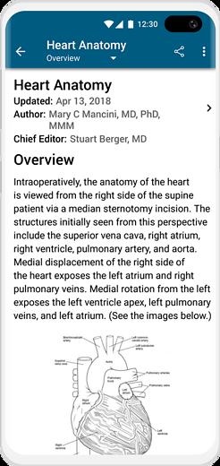 MedScape - medical education app