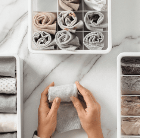 how to organize socks