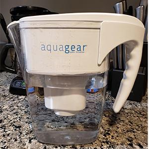 Aquagear Water Filter Pitcher design